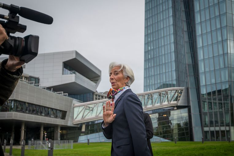 ECB-president Christine Lagarde. Beeld Getty Images