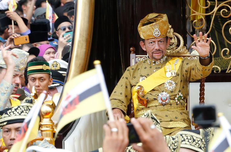 Sultan Hassanal Bolkiah van Brunei. Beeld EPA