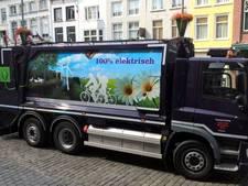 Eerste volledig elektrische vuilniswagen van Brabant rijdt in Breda