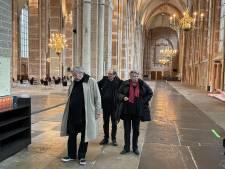 Van Rossems duiken Deventer grafkelder in: 'Op die plek heeft Lebuïnus ooit de kerk gesticht'