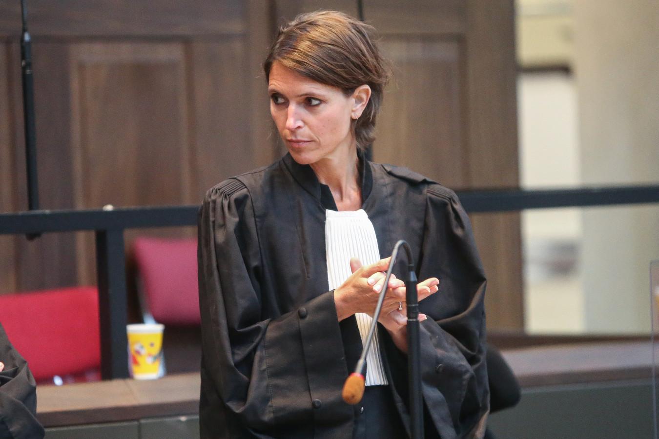 Saskia Kerkhofs treedt op voor de moeder van het slachtoffer.