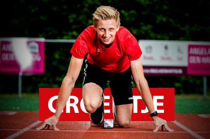Twan van Rijn is fanatiek met atletiek.