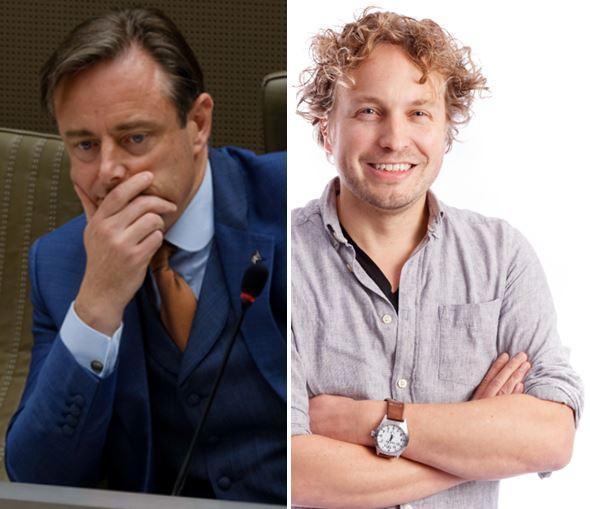 Bart De Wever van de N-VA, de grootste partij in België. Of die weer gaat meeregeren is nog lang niet duidelijk, zag columnist Niels Herijgens