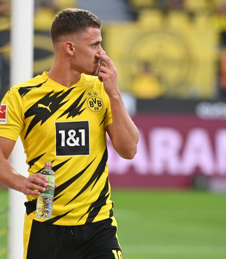 Thorgan Hazard reprend les entraînements collectifs à Dortmund