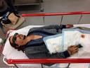 Johnny Depp a dévoilé une photo de lui à l'hôpital. Il le jure: la victime, c'est lui.