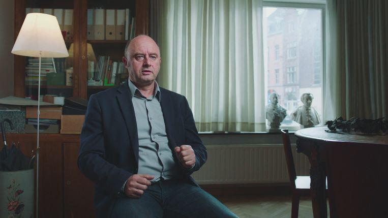 UGent-historicus Bruno De Wever.  Beeld VRT