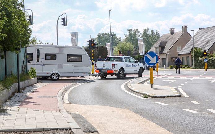 Bij de politie-actie in het voorjaar van 2019 werden naast wapens ook woonwagens in beslag genomen.