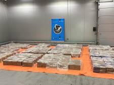 Opnieuw megavangst: ruim 4000 kilo cocaïne uit Equador onderschept in Rotterdamse haven
