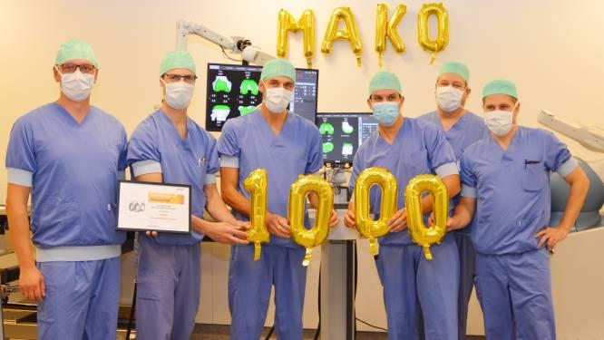 MAKO-robot voert duizendste operatie uit