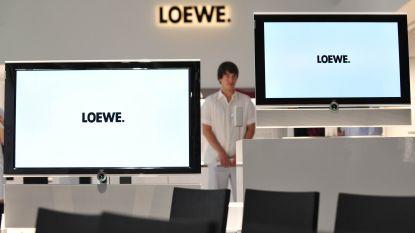Duitse fabrikant van designtelevisies Loewe is failliet