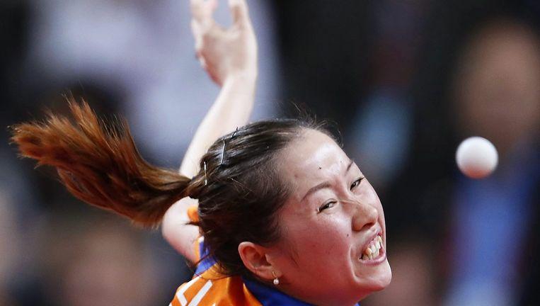 Li Jie wint zilver tijdens het EK Jekaterinenburg. Beeld null
