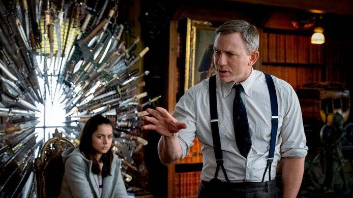 Daniel Craig als Benoit Blanc.