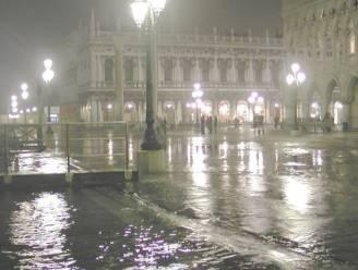 Venetië verzuipt - bijna meter water op San Marco