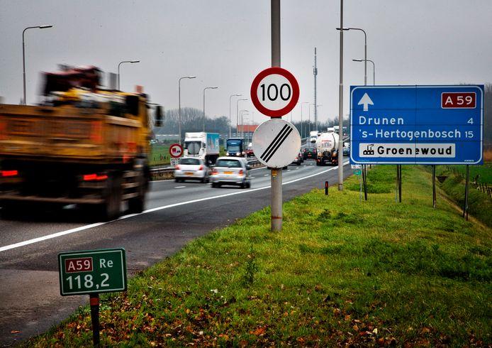 De A59 is de verbindende schakel in de plannen voor Gebiedsontwikkeling Oostelijke Langstraat (GOL).