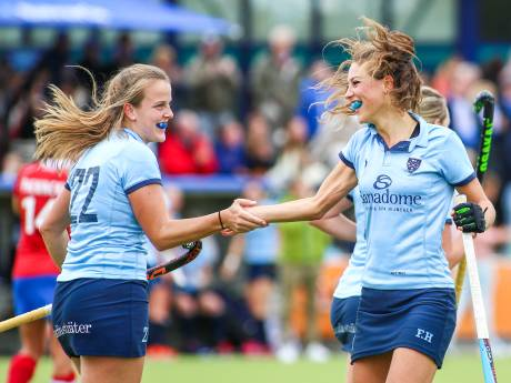 Isaline Kroon redt punt voor Nijmegen na drie (!) afgekeurde goals