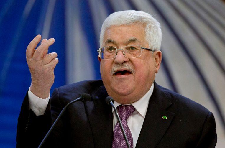 De Palestijnse premier Mahmoud Abbas. Beeld AP