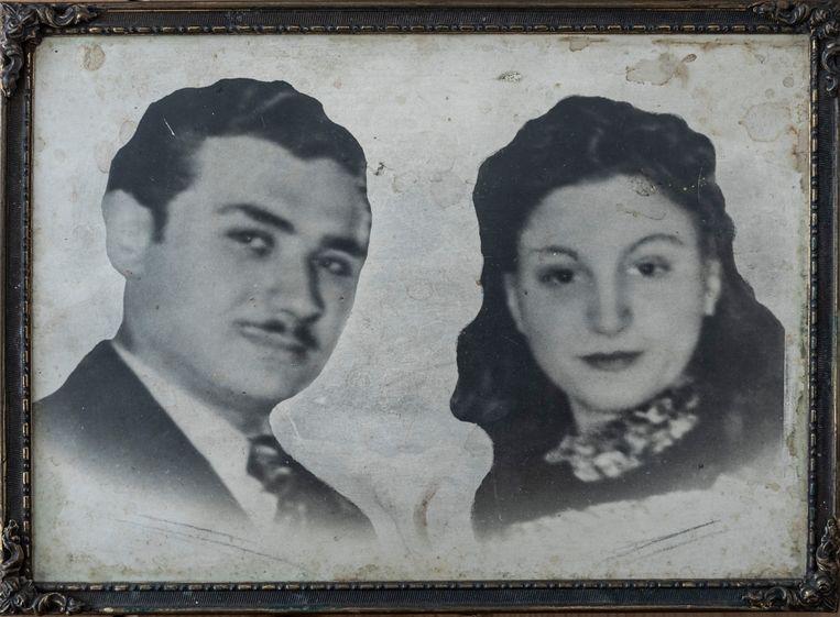 De ouders van Rosette: Simon en Vogelina Groen-Kroonenberg. Beiden werden vermoord in het concentratiekamp. Beeld Privéarchief
