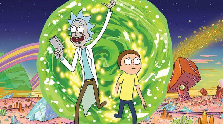 Rick and Morty Beeld Netflix