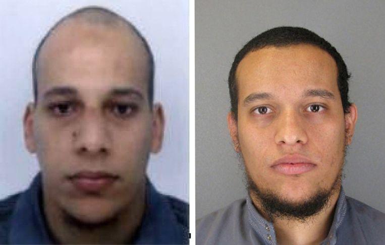 Chérif (links) en Saïd Kouachi. Beeld AP