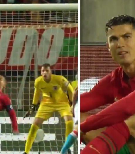 Un arrêt de grande classe: Anthony Moris, gardien de l'Union, évite un but d'anthologie de Cristiano Ronaldo