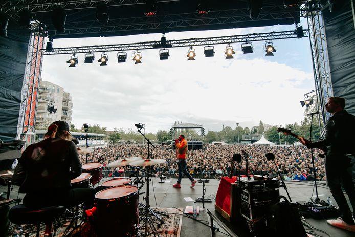 De twintigste editie van Bevrijdingsfestival Zoetermeer trok een recordaantal bezoekers.