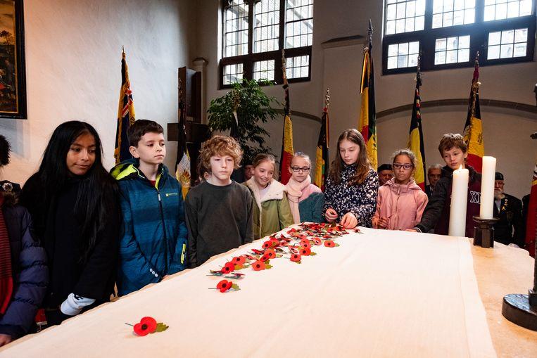 Universiteit Antwerpen herdenkt de gesneuvelde studenten