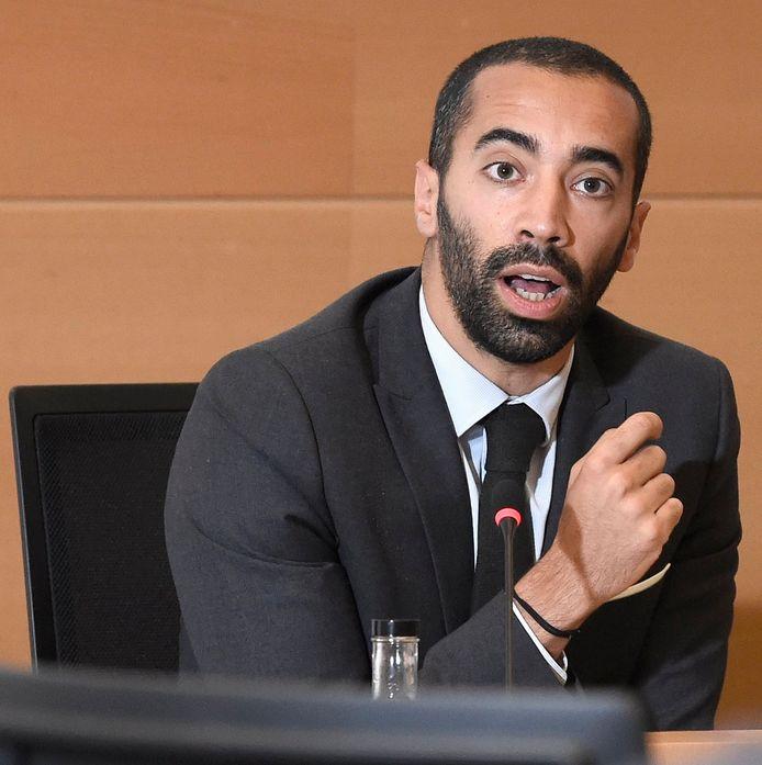 Sammy Mahdi, staatssecretaris voor Asiel en Migratie.