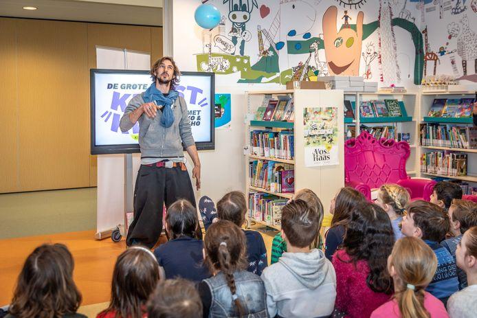 Opening van de Kinderkunstweek in 2019 in Kapelle.