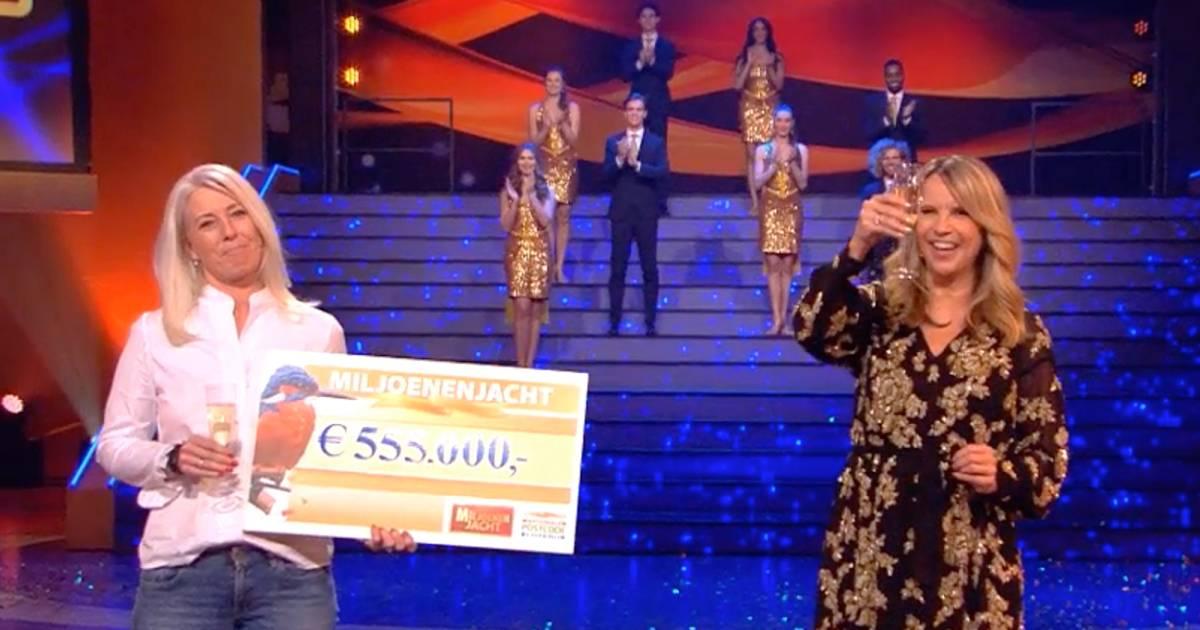 Danielle (48) wint ruim een half miljoen in eerste Miljoenenjacht van nieuwe seizoen - AD.nl
