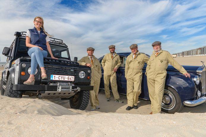 Dit is het organisatieteam van DePanne4Cars
