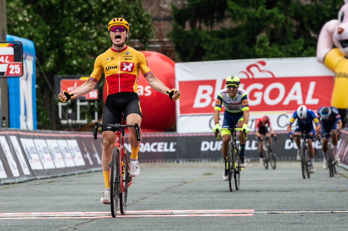 De Noor Rasmus Fossum Tiller behaalde zijn eerste grote overwinning in ons land.