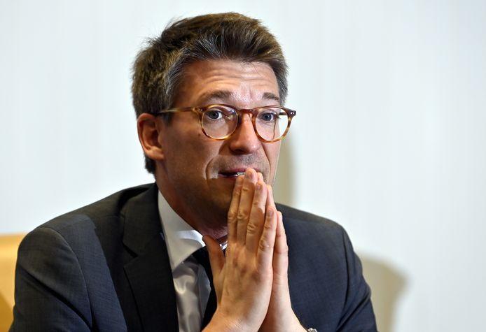 Le ministre de l'Économie et du Travail, Pierre-Yves Dermagne n'a pas réussi à trouver un accord avec les partenaires sociaux.