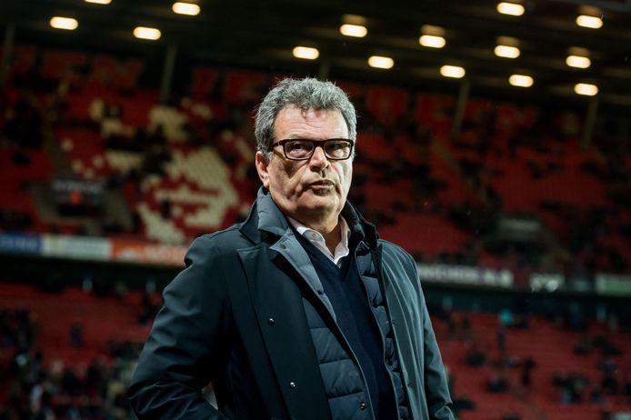Ted van Leeuwen als 'td' van FC Twente.