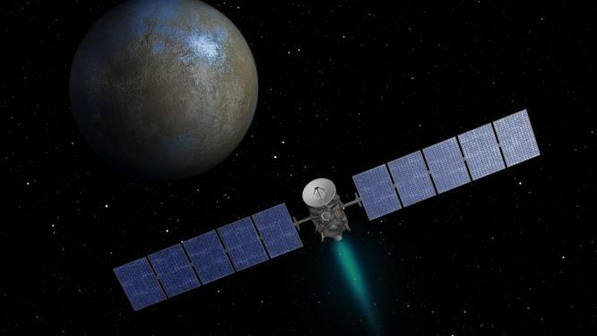 Missie geslaagd: ruimtesonde Dawn in baan rond dwergplaneet Ceres