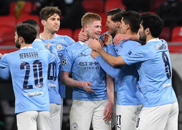 Manchester City hield tegen Gladbach voor het zevende duel op rij de nul.