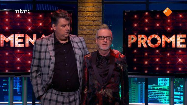 De komst van Promenade heeft Lips' blik op Nederlandse talkshows drastisch veranderd. Beeld NPO 3