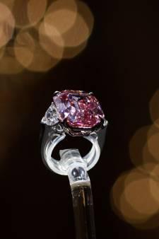 Pink Legacy diamant geveild voor 44 miljoen euro