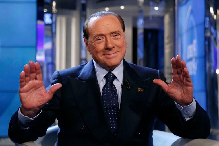 Silvio Berlusconi. Beeld Photo News