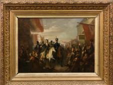 Burgemeester krijgt z'n zin: koning Willem II komt bij hem aan de muur