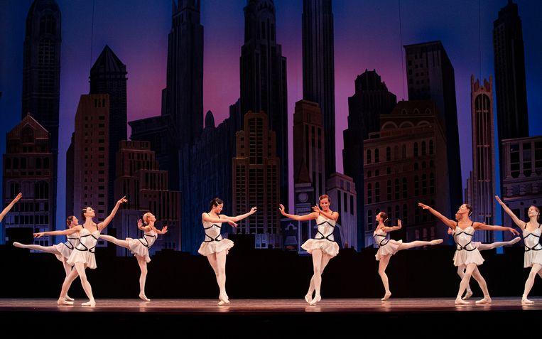 Het Nationale Ballet met Who Cares? van George Balanchine. Beeld ALTIN KAFTIRA / Het Nationale Ballet