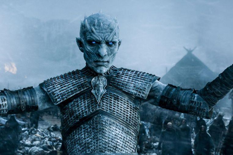 De Night King uit Game of Thrones. Beeld Filmstill