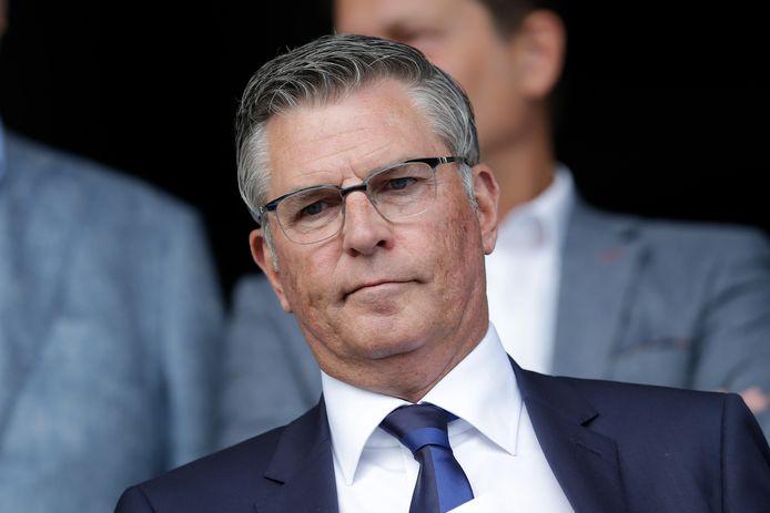 Martin van Geel, algemeen directeur bij Willem II.