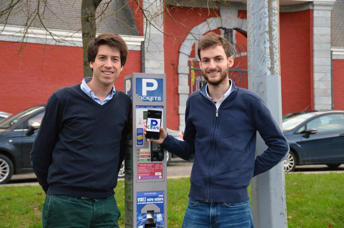 Oprichters Hadrien Crespin en Nicolas Cognaux maken de app beschikbaar in Leuven.