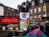 Studenten kamperen (tijdelijk) in centrum Utrecht