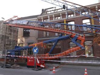 Ramp vermeden in centrum Waasmunster nadat bouwkraan plots instort