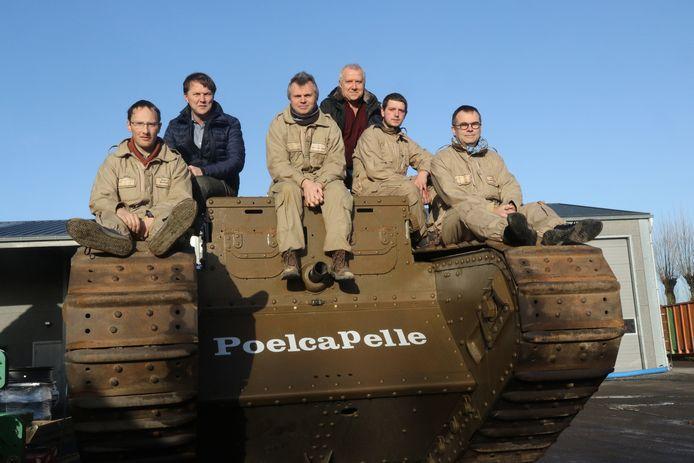 De tank van Poelkapelle komt volgend weekend naar Sint-Niklaas.
