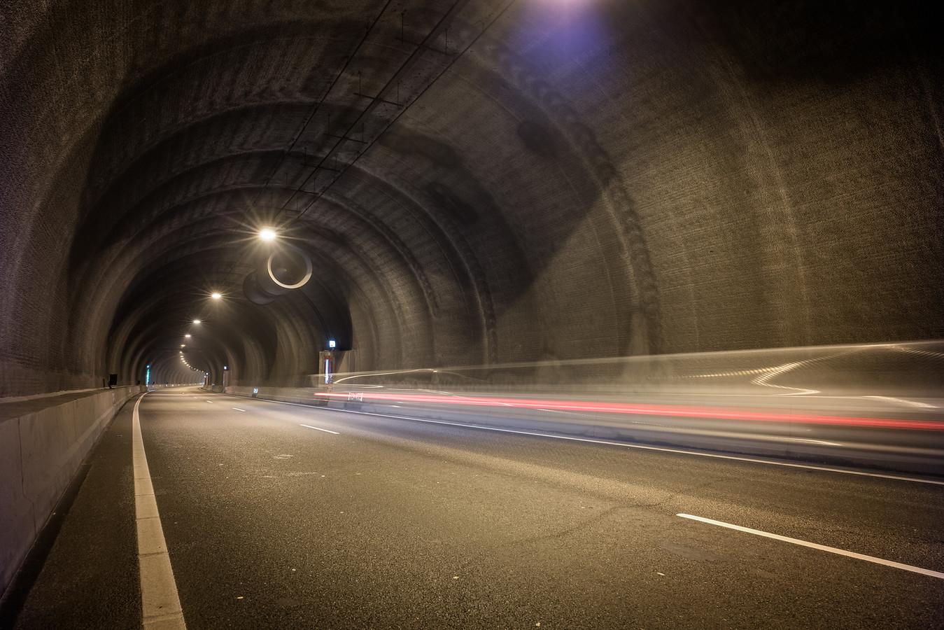 De Westerscheltunnel.