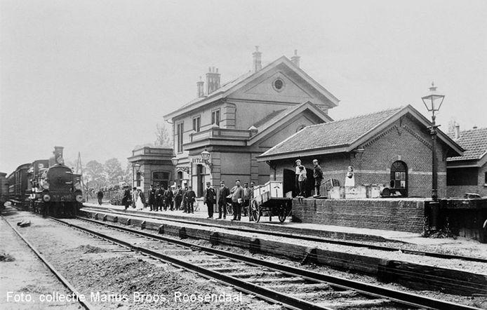 Treinstation van Oudenbosch, van voor 1910.