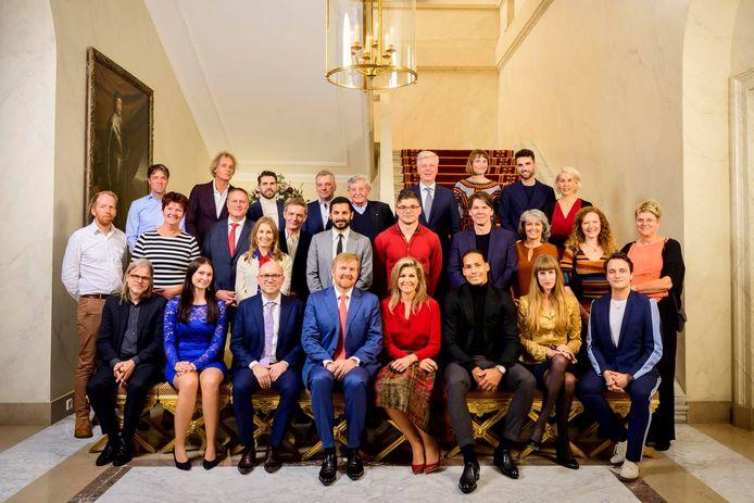 Met de uitblinkerslunch toont het koninklijk paar hun waardering voor mensen die iets bijzonders hebben gepresteerd.
