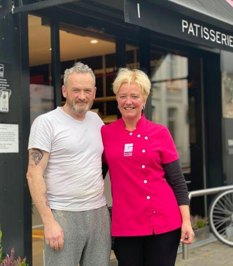 """Peter sluit bakkerij in Forelstraat om voor zieke bakkersvrouw Sandra te zorgen: """"Ik heb hem leren kennen toen ik 15 was en hij 17"""""""